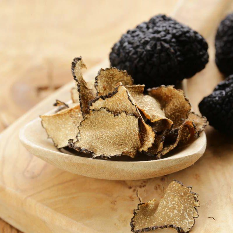 Des truffes noirs