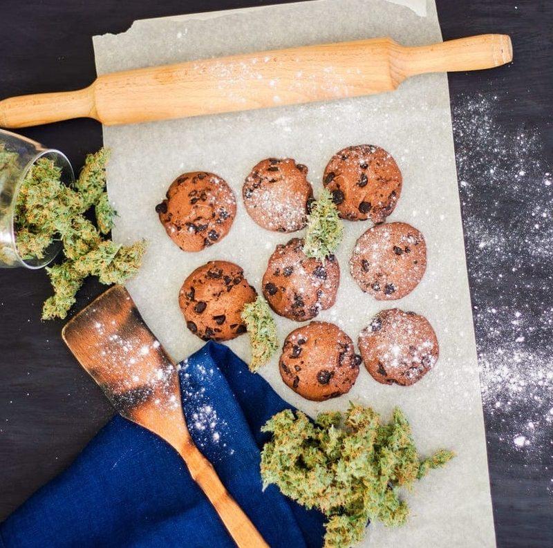 Cookies au CBD