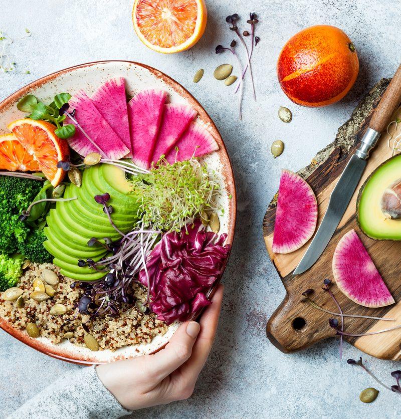 bowl repas équilibré